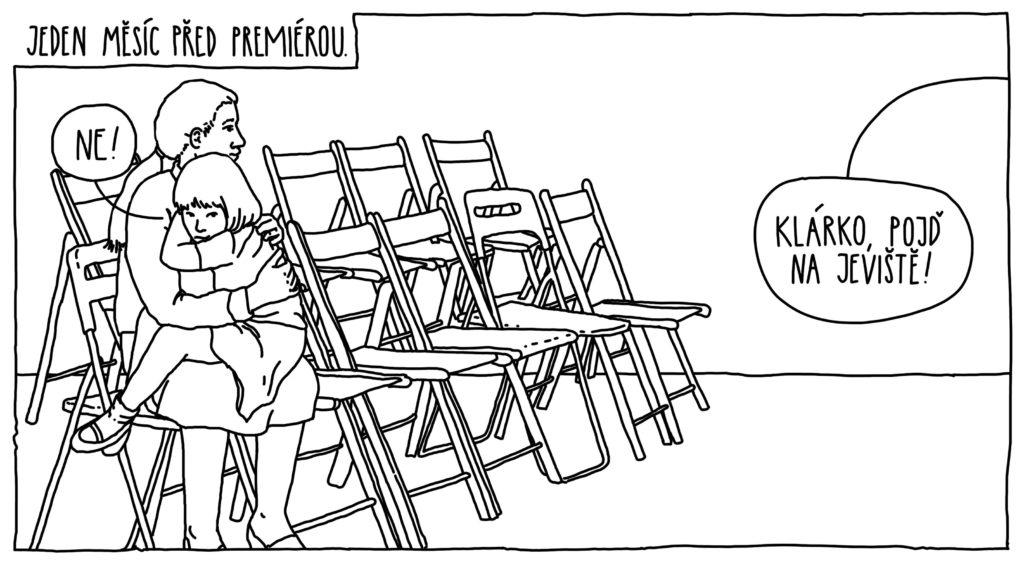 Komiksy - Klárka a jeviště