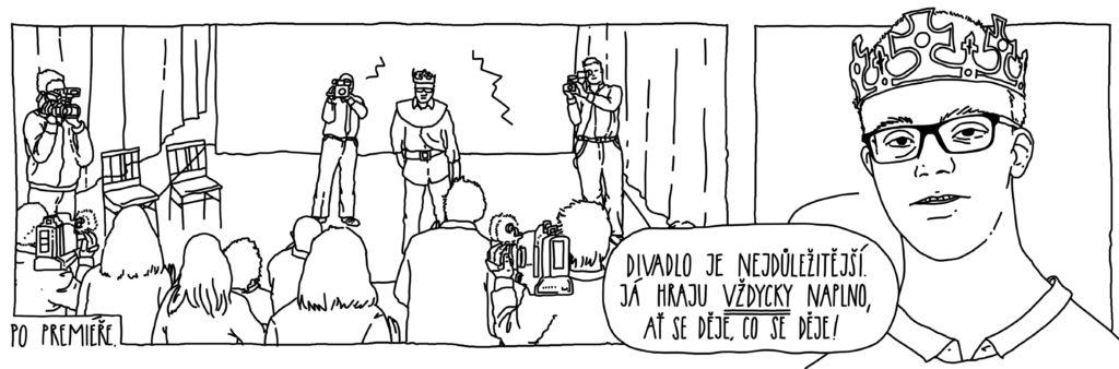 Komiksy - Martin a kouzelná medicína