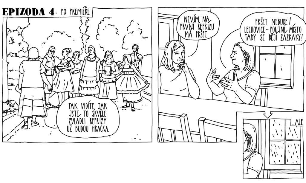 Komiksy - Erbenův Zlatý kolovrat v Lechovicích